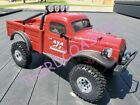 IMEX Radio Controlled 1/18th Habanero Dodge Truck Crawler, Red, Ready to Run