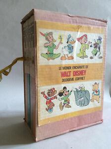 Le Monde Enchanté de Walt Disney * Coffret de 4 Volumes * Livre de Paris 60/70