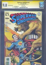 Superman Unchained #2 CGC 9.8 SS Jim Lee Scott Snyder Frank Variant