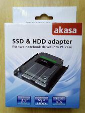 SSD & HDD Adapter Caddy Enclosure 2.5 to 3.5 PC Bay AK-HDA-03