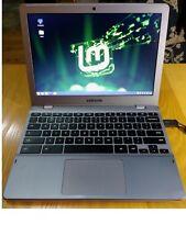 Samsung Series 5 Chromebook. w/Custom BIOS , 64GB M2, Updated Dual Boot Linux