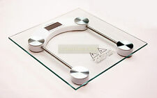 150kg Digital Electronic Glass LCD Weighing Personal Body Scale Bathroom SQUARE