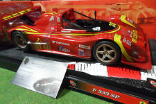 FERRARI  F333 SP MOMO # 30 1/18 HOT WHEELS 29750 voiture miniature de collection