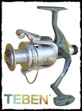 mulinello Teben 3000 CPR 1BB frizione post. pesca spinning bolognese ledgering