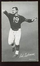 1948-52 Football Exhibit Card Sid Luckman EX
