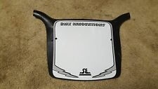 SE Racing BMX Bike  number plate (Repop) Black and White