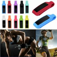 Pocket Belt Loop Clip Steel Clasp Silicone Case For Fitbit Alta Activity Tracker
