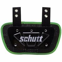 Schutt Sports Neon Football Back Plate Assorted Colors , Sizes