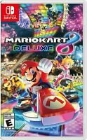 Mario Kart 8 Deluxe for Nintendo Switch - Brand New FREE SHIPPPING