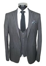 Pinstripe Single Breasted Suits for Men