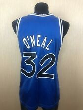 ORLANDO MAGIC O'NEAL VINTAGE NBA BASKETBALL SHIRT SWINGMAN CHAMPION SIZE 44