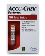 ACCU Chek Performa 50 strisce di test, Glicemia Test Auto-scadenza 2019.