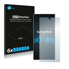 6x Displayschutzfolie für Samsung Galaxy Note 10 Plus Schutzfolie Klar Folie