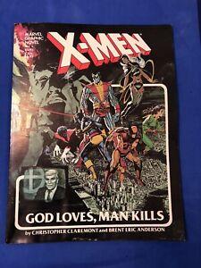 X-MEN God Loves Man Kills #5 Square Bound Graphic Novel Marvel (1982)