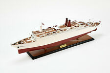 """SS Hanseatic Handcrafted Wooden Ship Model 34"""""""