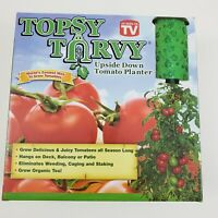 Topsy Turvy Tomato Planter Upside Down Porch Deck Apartment Hang Tomatoes