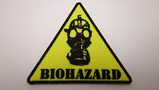 Biohazard! Mask       EMBROIDERED  PATCH  IRON-OR SEW