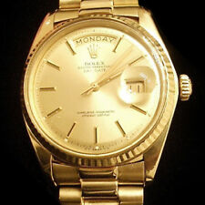 Mens Rolex Day-Date President Solid 18K Yellow Gold Watch Champagne Dial 1803