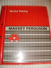 MASSEY FERGUSON 1999 SERVICE TRAINING MANUAL .6200  8200.TRACTOR ,CLASS   A,B,C.