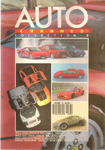 AUTO CHROMES 83 ISDERA IMPERATOR MERCEDES C111 FERRARI GTO EVOLUZIONE