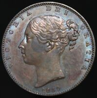 1839 | Victoria Farthing | Copper | Coins | KM Coins