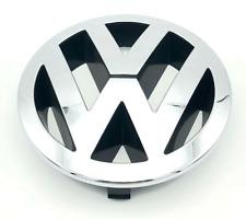 Genuine VW TOUAREG FRONT 150mm GRILLE EMBLEM CHROME BADGE 7L6853601A