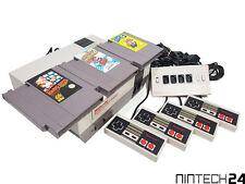 NES - Nintendo NES Konsole mit Mario Bros 1/2/3 mit ORIGINAL Controller