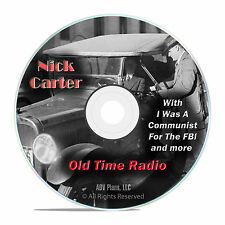 Nick Carter, Master Detective, 860 Old Time Radio Police Shows OTR, DVD CD G11