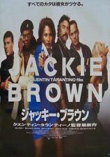 JACKIE BROWN Japanese B2 movie poster QUENTIN TARANTINO PAM GRIER NM 1997