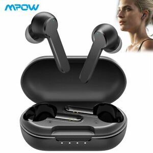 Mpow MBits S True Wireless Earbuds Bluetooth Microphone Headphone Deep Bass IPX8