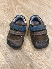 Clarks Cruiser/ First Soft Baby Shoes Brown suede UK 3.5G/ EU 19 Used