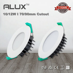 10W 12W Dimmable LED Downlight Color Changing 70mm/90mm Cutout Flat/Recessed