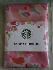 JAPAN STARBUCKS SAKURA 2018 PROMO FUROSHIKI traditional Japanese wrapping cloth