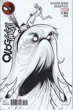 Spiderman/ Deadpool #1 MU Monster Gwen Variant GR 9.7 NM (Holo # 0632)
