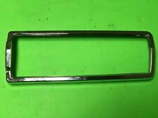 Datsun 1600 510 SSS Rear Right Tail light Chrome Bezel Trim Genuine NOS