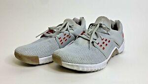 Nike Free X Metcon 2 Platinum /Red Gym Training Shoes AQ8306-061 Men's Size 12