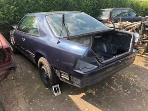 Mercedes W124 Coupe Heck kompl. Hinterwagen Heckteil Fahrzeugheck