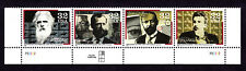 3061-64 Pioneers of Communication Strip of (4) In Correct Order W/P# Mnh