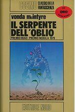 Vonda McIntyre - IL SERPENTE DELL'OBLIO - NORD Cosmo Oro 41 - 1a Ed carton. 1980