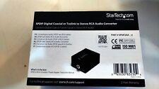 Startech Spdif2aa Convertitore Audio RCA SPDIF a Stereo in