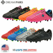 DREAM PAIRS Kids Girls Boys Soccer Shoes Outdoor Soccer Cleats Shoes Trainers