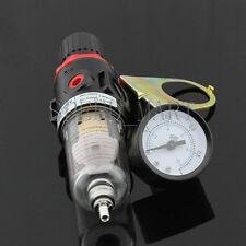 Regulator 1/4 Inch Pressure Gauge Water Trap Filter Tool Airbrush Air Compressor