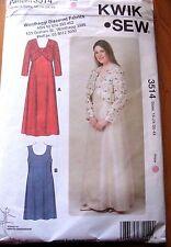 Kwik*Sew sewing pattern no.3514 Ladies dress & Jacket size 1X,2X,3X.4X NEW