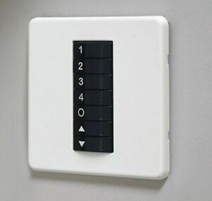 Scene Set Light Switch CP Electronics. Vitesseplus VITP7-4SC-W