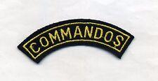TISSU COMMANDOS. TITTLE. BANANE (L2)