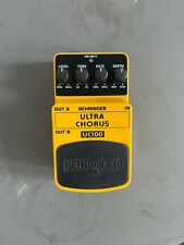 Behringer Ultra Chorus UC200 Guitar Effect Pedal - Great Condition