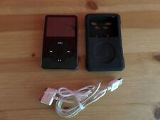 Apple iPod classic 5. Generation Schwarz 124GB SSD Flasch Speicher wie neu