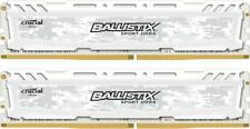 Crucial Ballistix Sport 16GB (8GB x 2) DDR4 2400 UDIMM GAMING RAM LIFETIME WARRA