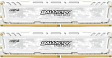 32 GB Ballistix Sport Crucial 16 GB x 2 DDR4 2666 RAM UDIMM Gaming vita WARRA