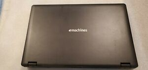 """eMachines E528-2325 Black 15"""" Laptop notebook Computer For Parts Repair AS IS"""